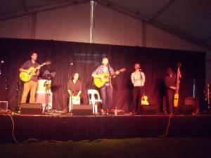 PB and the Wooden Box Band Wellington Folk Festival 2013